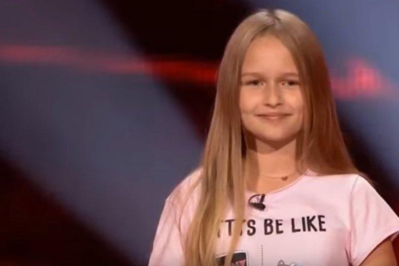 """12-letnia Hania Lasota zachwyciła jurorów w The Voice Kids"""""""