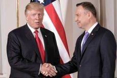 Wizyta Andrzeja Dudy w USA budzi protesty przedstawicieli Kongresu między innymi z powodu słów polskiego prezydenta o LGBT.