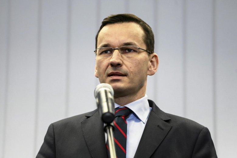 Sprawdzono taśmy z udziałem Mateusza Morawieckiego. Miał na nich chwalić niektóre poczynania ekipy Donalda Tuska.