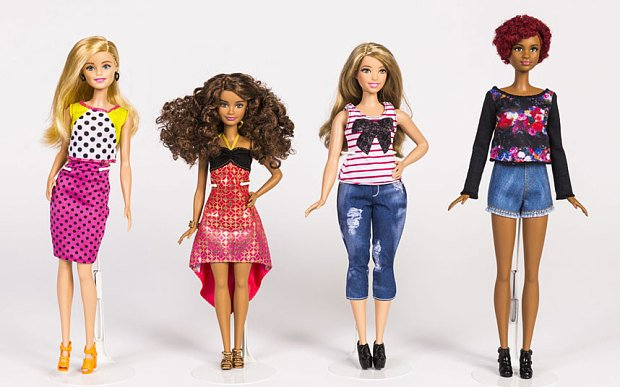 Była już Barbie kosmonautka, Barbie modelka, Barbie weterynarz, w 2016 roku przyszedł czas na Barbie realistyczną.