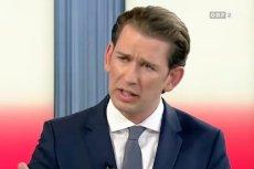 Kanclerz Austrii Sebastian Kurz zapowiedział przedterminowe wybory tak szybko jak to możliwe.
