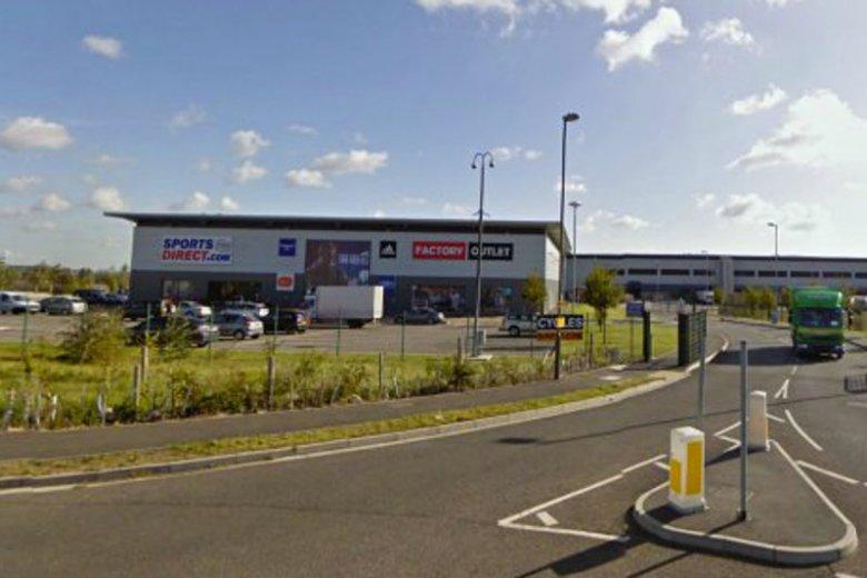 Większość pracowników firmy Sports Direct w Shirebrook na północy Anglii to Polacy