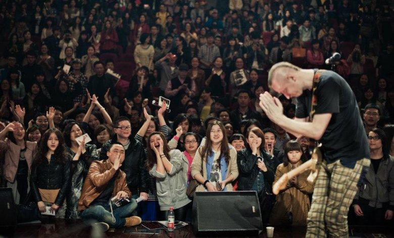 Jeden z koncertów w Chinach