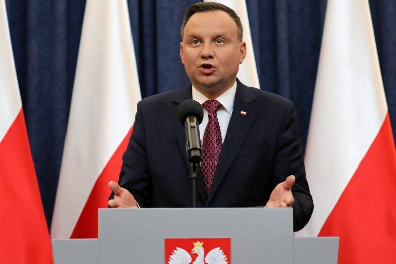 Andrzej Duda na liście głów państw szkodzących wolności mediów.