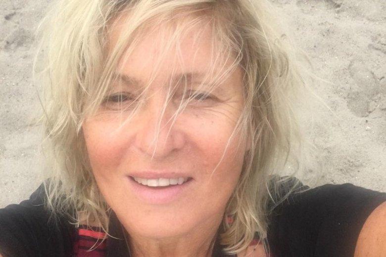 Ewa Kasprzyk nie boi pokazywać się w naturalnej odsłonie, bez makijażu
