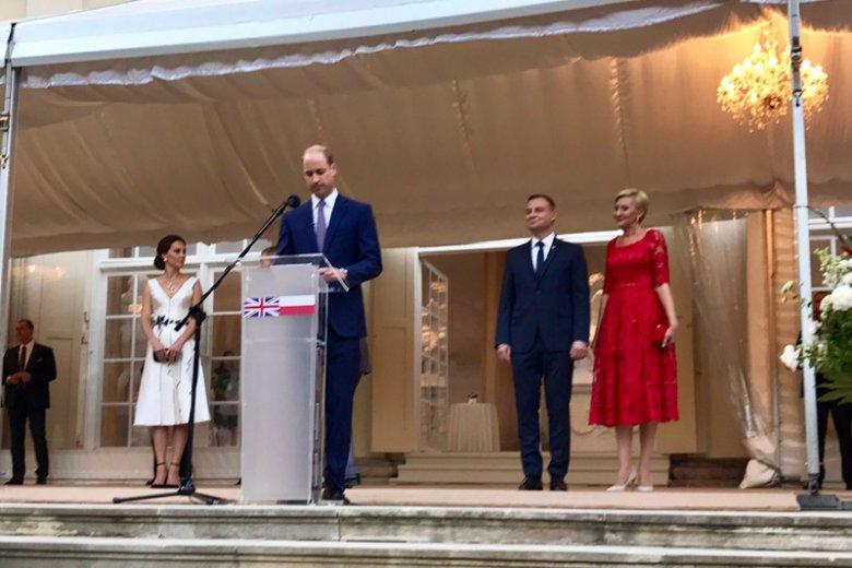 Brytyjski książę William wygłosił przemówienie w Warszawie. Poświęcił je głównie polskiej historii.