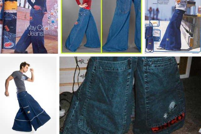 Kultowe spodnie JNCO