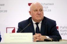 Szef Państwowej Komisji Wyborczej Sylwester Marciniak podał najnowsze dane dot. wyborów.