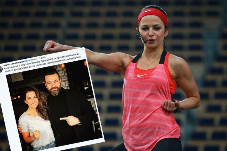 Anna Lewandowska na ringu MMA? To całkiem możliwe.