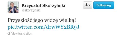 Krzysztofa Skórzyński na temat wypowiedzi Piotra Guziała