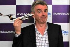 Ryanair chce zmienić swój wizerunek. Prezes Michael O'Leary mocno mu w tym przeszkadza