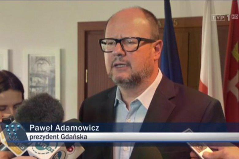 Sprawdzili, ile razy TVP wspominało o Pawle Adamowiczu.