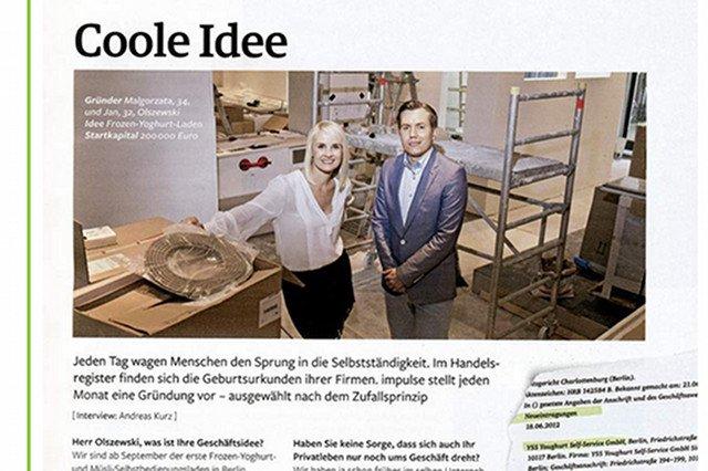 Niemiecka prasa zachwycała się pomysłem młodego Polaka.