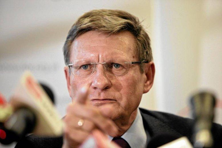 Profesor Leszek Balcerowicz były prezes Narodowego Banku Polskiego, szef fundacji Forum Obywatelskiego Rozwoju