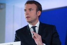 """Emmanuel Macron nie chce być dłużej nazywany """"prezydentem bogatych""""."""