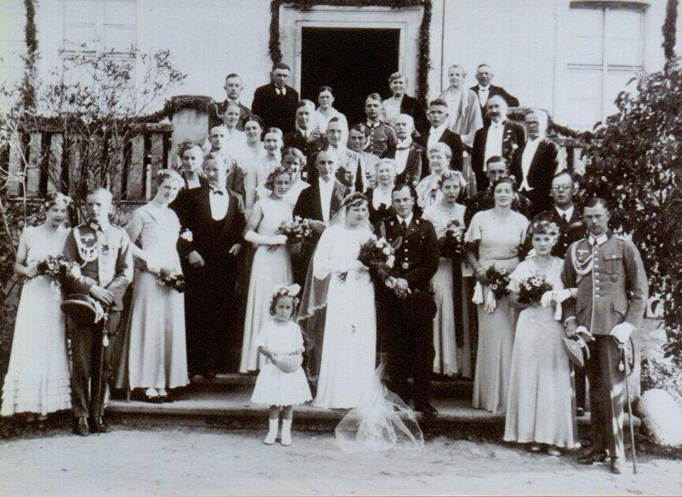 Jedyne stare zdjęcia jakie ocalały, i którymi byli właściciele podzielili się z Joanną i Piotrem