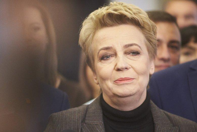 Hanna Zdanowska stwierdziła, że opozycja przegrała wybory parlamentarne na własne życzenie.