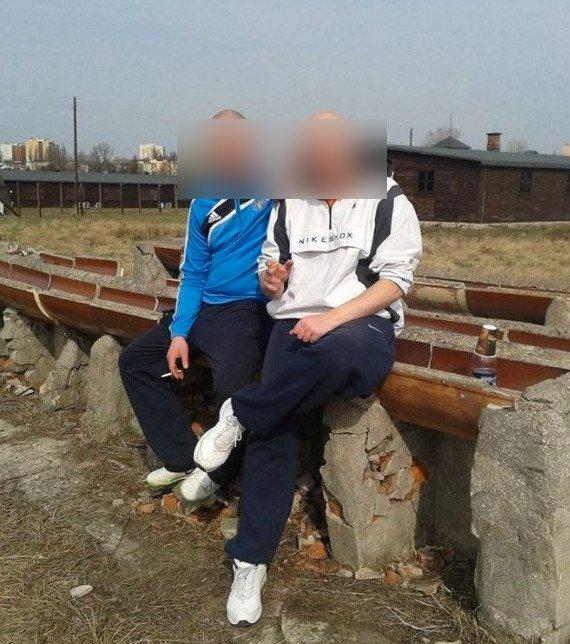 Dwaj 30-latkowie pili alkohol w Muzeum na Majdanku