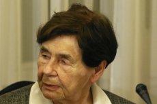Zofia Romaszewska wypowiedziała się krytycznie o propozycjach pytań referendalnych ws. Konstytucji RP.
