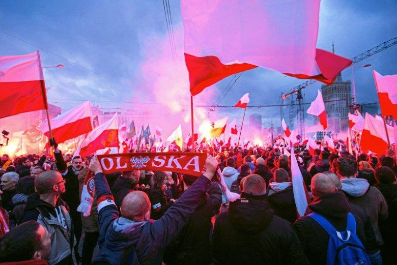 Młodzież Wszechpolska sugeruje, że policja może inwigilować uczestników niedzielnego marszu.