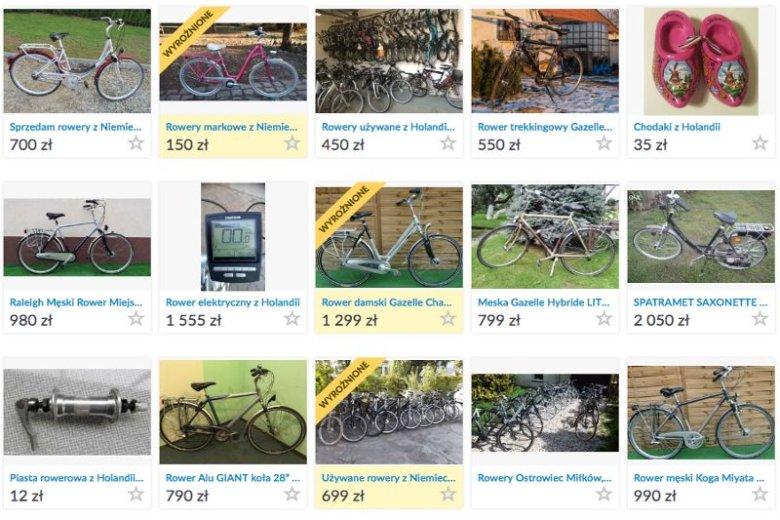 Ofert rowerów z holenderskim rodowodem nie brakuje, a ich ceny są przystępne dla każdego.