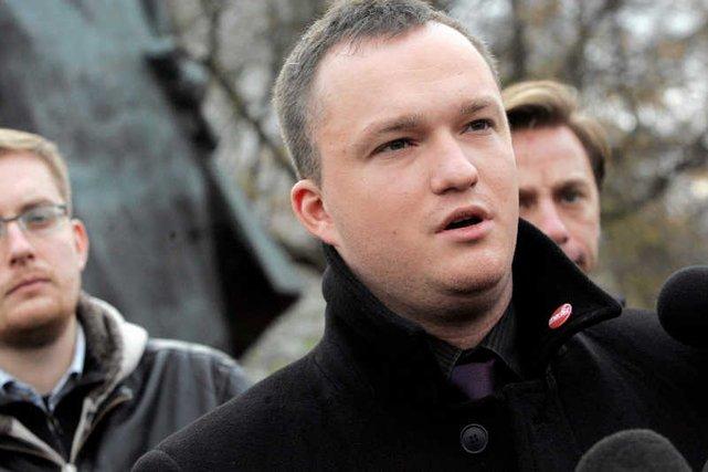 Witold Tumanowicz z Ruchu Narodowego w szczycie przedwyborczej walki.