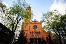 Kościół św. Augustyna w Warszawie na Nowolipkach. To tu w czwartek doszło do napadu, w którym zginął 65-letni mężczyzna.