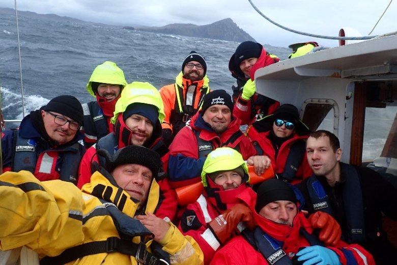 15 maja 2018 roku pierwsi niewidomi żeglarze Justyna Kucińska i Darek Borowiak opłynęli przylądek Horn.