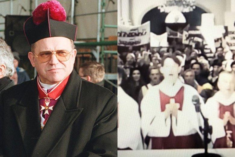"""Ksiądz Stanisław z """"Kleru"""" łudząco przypomina zachowaniem i historyczną rolą prałata Henryka Jankowskiego."""