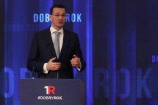 Mateusz Morawiecki broni przywilejów parlamentarzystów.