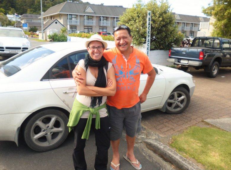 Wraz z Billem, który namówił nas na zmianę planów i zawiózł kilkaset kilometrów zbaczając ze swojej trasy.