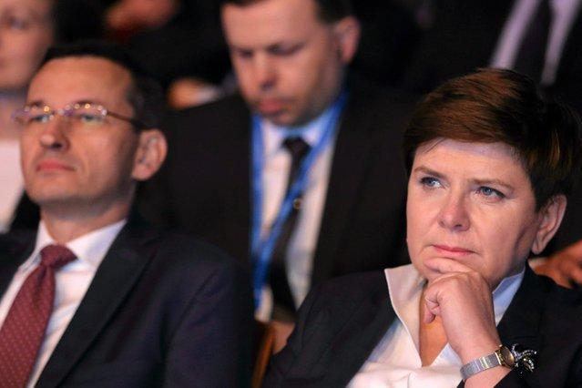 Beata Szydło i Mateusz Morawiecki zostali pomazańcami Jarosława Kaczyńskiego.