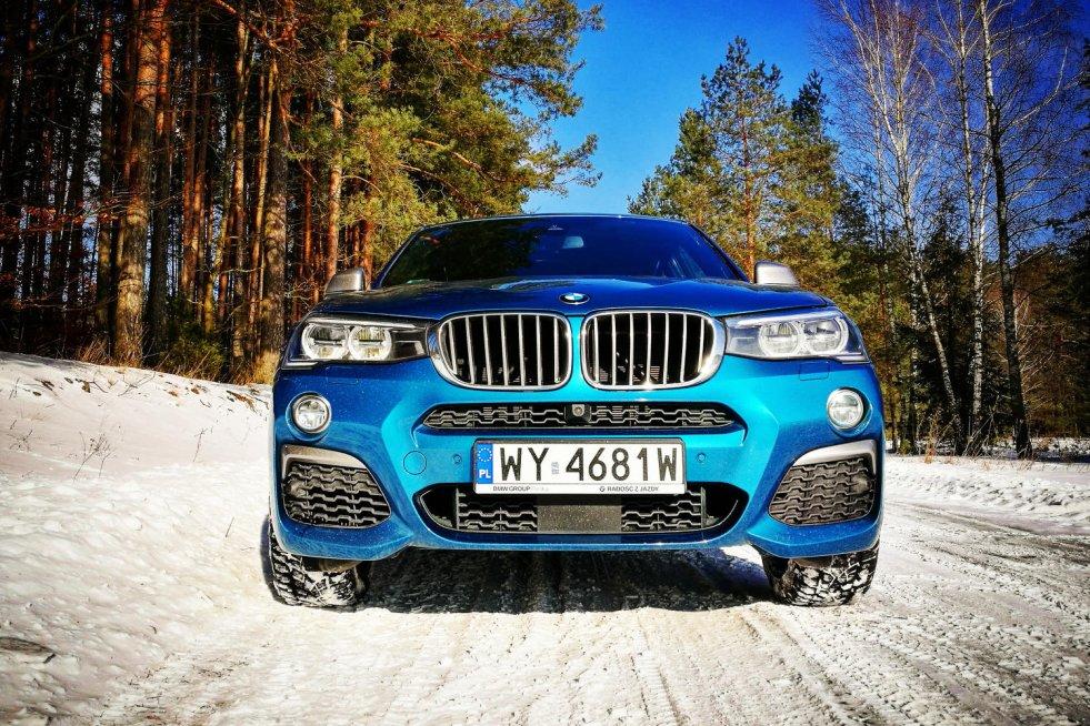 BMW X4 M40i – to mniejsza wersja popularnej X6-tki.