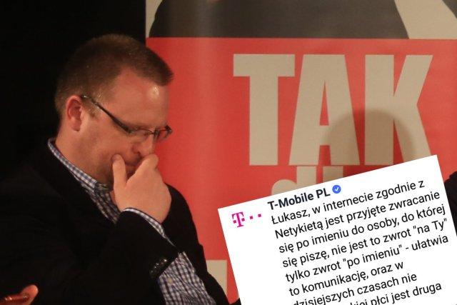 Internet pod strzechami, ale z Netykietąsame problemy. Na zdjęciu Łukasz Warzecha, od którego zaczęła się cała sprawa.