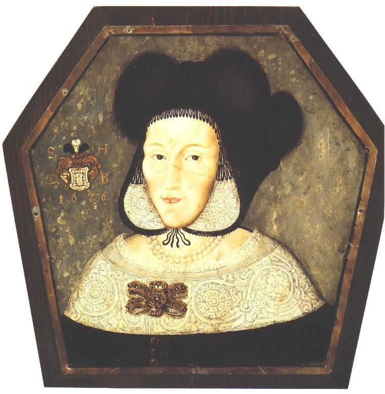 Portret trumienny Sabiny Hasa Radlic, ok. 1676, Muzeum Narodowe w Poznaniu