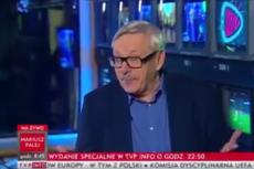Marcin Wolski, satyryk TVP, jest przekonany, że wypełnia wolę zmarłego przywódcy katolików, papieża Jana Pawła II.