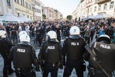 Marsz Równości w Lublinie przeszedł, ale nie obyło się bez starć z policjąkontrmanifestantów.