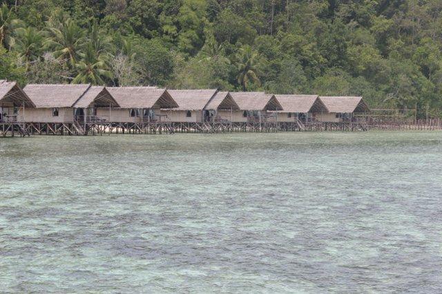 Jeden z kurortów na Papui.
