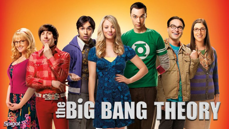 """The Big Bang Theoy/Teoria Wielkiego Podrywu"""