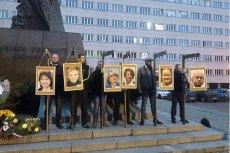 Narodowcy zorganizowali kontrowersyjną pikietę przeciwko europosłom z PO. Policja była na miejscu, ale nie interweniowała