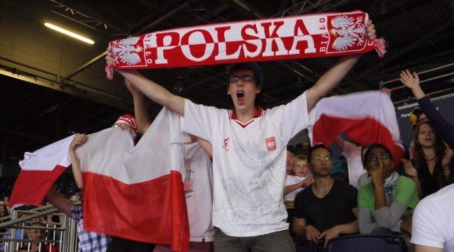 Patryk Chojnowski właśnie zdobył punkt warty złoty medal Paraolimpiady w Londynie! Polska publiczność szaleje!