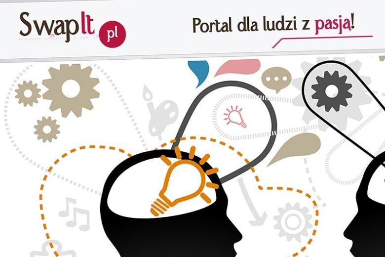 Swapit.pl to nowy portal społecznościowy, który ma służyć do darmowego dzielenia się wiedzą i pasjami.