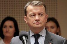 Szef MSWiA Mariusz Błaszczak tłumaczył we wtorek, dlaczego użyto siły przeciwko protestowi kobiet w Poznaniu.