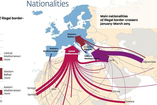 Skąd przychodzą i dokąd zmierzają imigranci