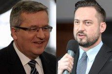 Bronisław Komorowski i Marcin Prokop