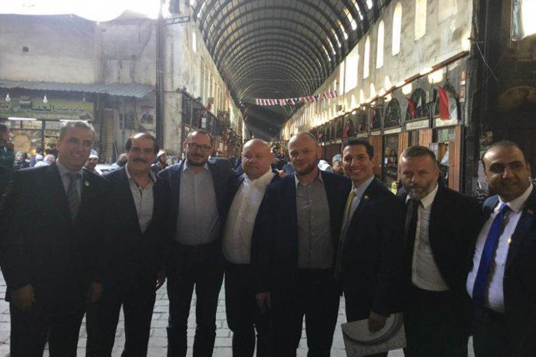 Paweł Skutecki z Kukiz'15 przewodniczył polskiej delegacji, która spotkała się z syryjskim dyktatorem Assadem.