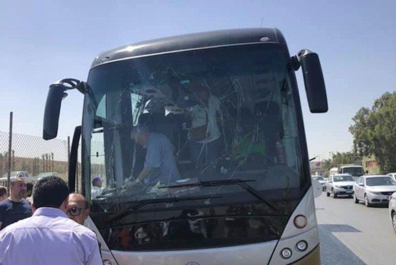 W Egipcie doszło do eksplozji autokaru z turystami.