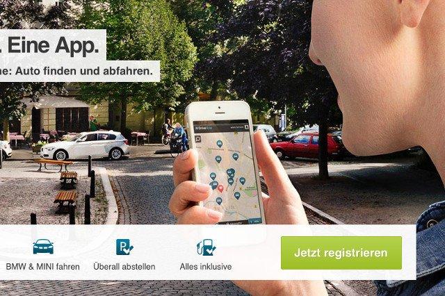 Tak działa system Drive Now w Niemczech