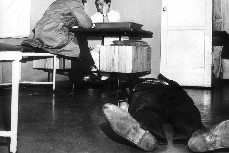 Warszawska izba wytrzeźwień w roku 1969...