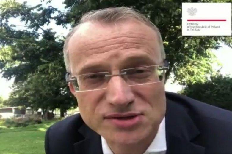 Ambasador Marek Magierowski nakręcił film z okazji 100-lecia niepodległości Polski.